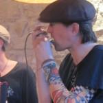 4P à l'harmonica